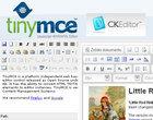 CKEditor TinyMCE webmaster WYSIWYG